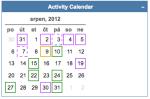 activity calendar 20120831