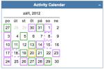 activity calendar 20120930