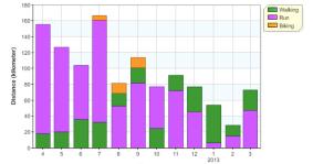 distance month 12m activities 20130331
