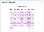 activity calendar 20140630