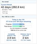 running goals 20140630