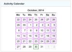 gz run activity calendar 20141031