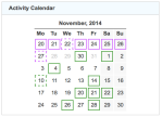 gz run activity calendar 20141130