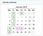 gz run activity calendar 20150131