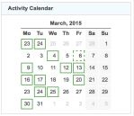 gz run activity calendar 20150331