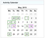 gz run activity calendar 20150531