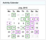 gz run activity calendar 20150731