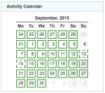 gz run activity calendar 20150930