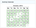 gz run activity calendar 20151031